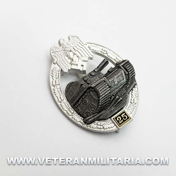 Panzer Assault Badge 25