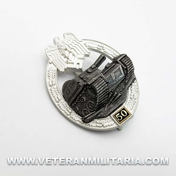 Panzer Assault Badge 50