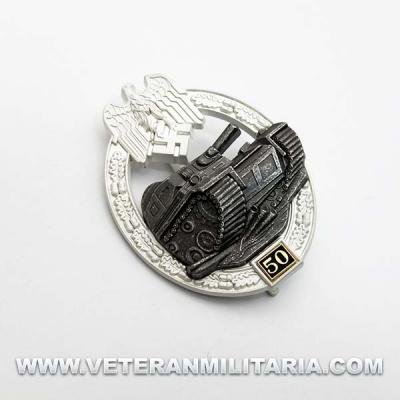 Panzer Assault Badge 50
