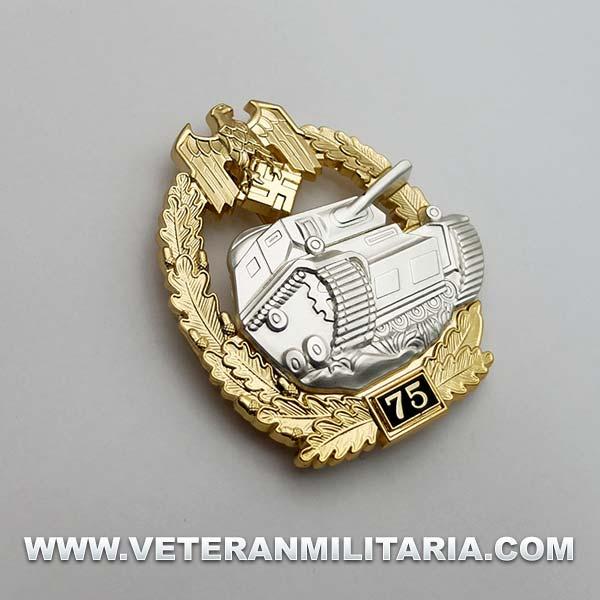 Distintivo de Lucha con Carros de Combate 75