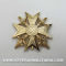 Spanish Cross with Swords Gold