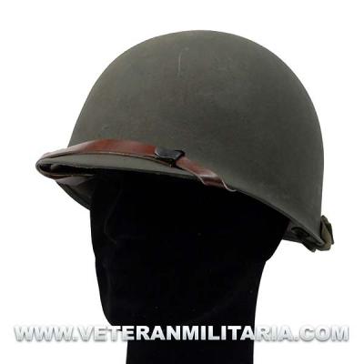 M1 helmet liner of plastic