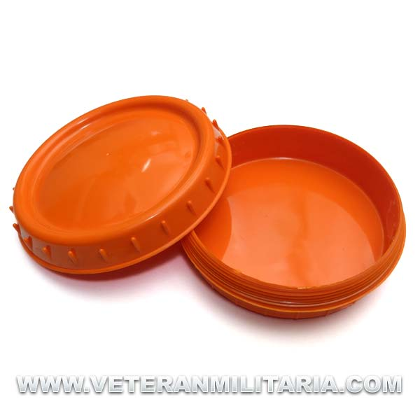 Butter dish German (orange)