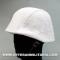 Winter camouflage helmet cover