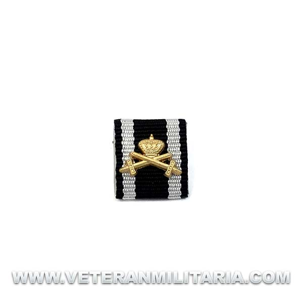 Ribbon Prussian House Order of Hohenzollern with Gold Swords and Crown