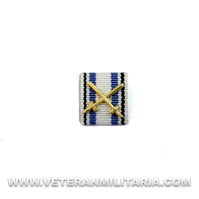 Ribbon Medal Bavarian Merit Cross 3rd Class with Swords