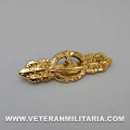 U-boat Front Clasp in Gold
