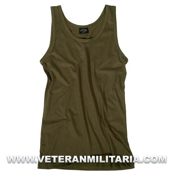US Army cotton undershirt.