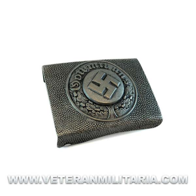 Polizei buckle Granulated