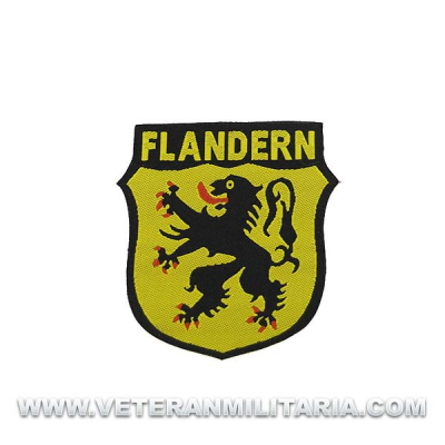 Flandern Volunteer Arm Patch