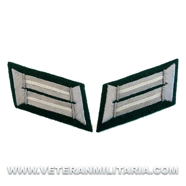 German Army Officer Collar Tabs (Infantry)