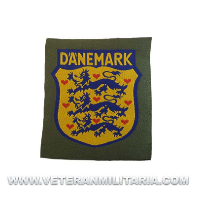 Danemark Volunteer Arm Patch