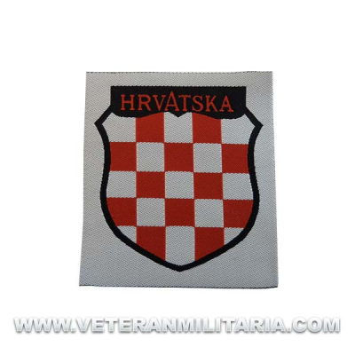 Hrvatska Volunteer Arm Patch