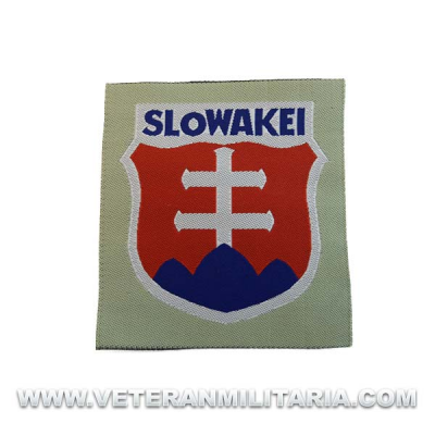 Slowakei Volunteer Arm Patch