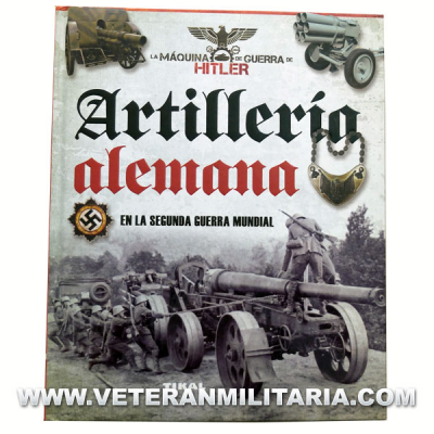 German artillery in World War II (Spanish book)