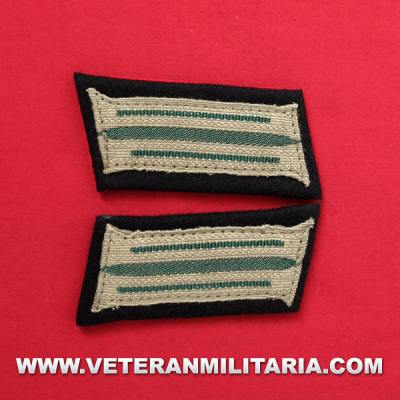 Army enlisted mans collar patches (Mounted)