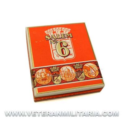 German Cigarette Case Salem No. 6