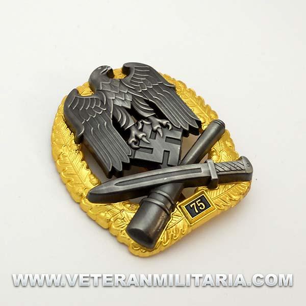 Distintivo de Asalto General 75