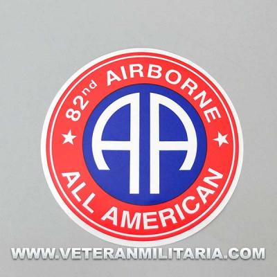 Pegatina 82 Airborne