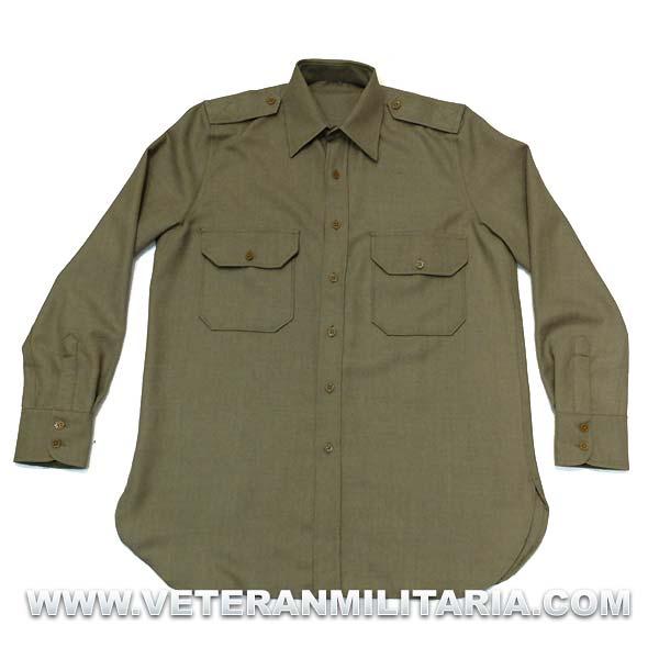 Mustard shirt M1937, Officers