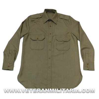 Mustard shirt M1937, Officers