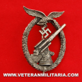 Luftwaffe Flak Anti-Aircraft Artillery War Badge