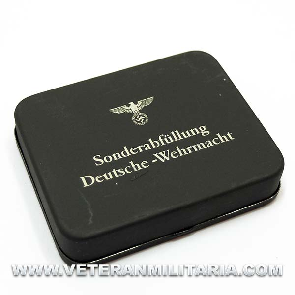 Metallic box Deutsche Wehrmacht Original