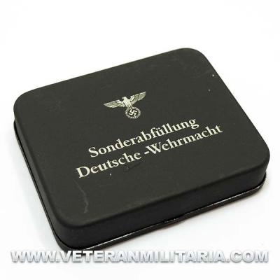 Caja Metálica Deutsche Wehrmacht Original