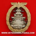 Kriegsmarine Fleet Service Badge