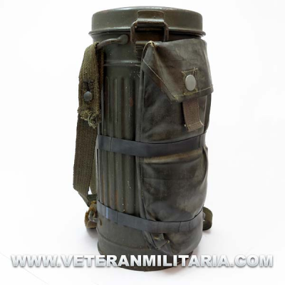 German Rubber Gasmask Can Band