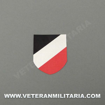Decal for Helmet German Tricolor shield