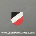 Decal for Helmet German Tricolor shield