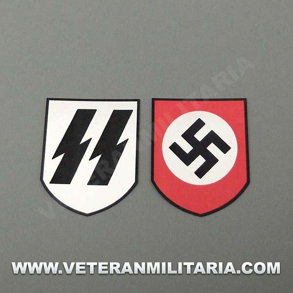 Decals for Helmet Waffen SS