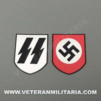 Calcas para Casco Waffen SS