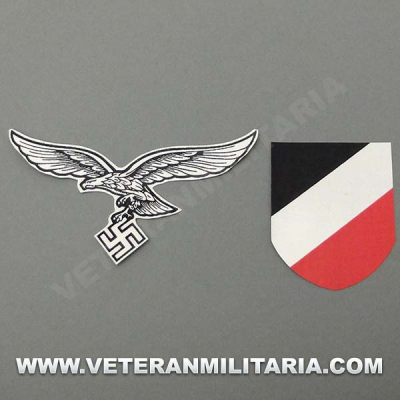 Decal for Helmet German Luftwaffe 2º Pattern