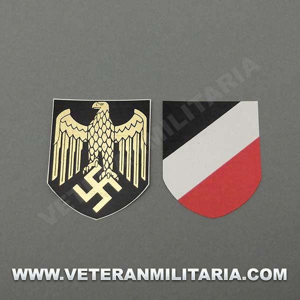 Decals for Helmet Kriegsmarine