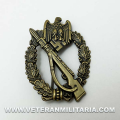 Army Infantry Assault Badge in bronze