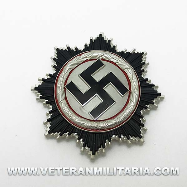 Silver German Cross 5-Piece