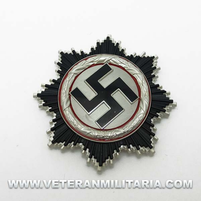 Cruz Alemana en plata - Deutsche Kreuz