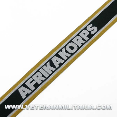 Cuff Title Afrika Korps Troop