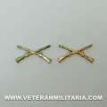 Collar insignia , infantry Official US
