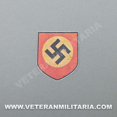 Decal for German Helmet Party Shield aged