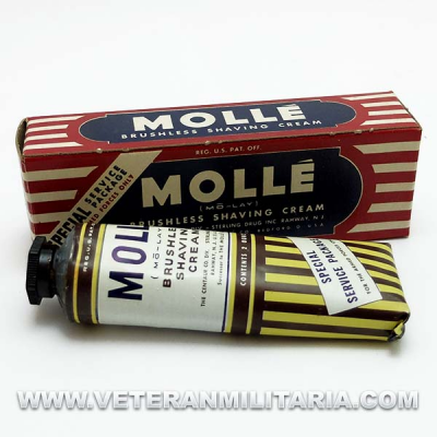 Brushless Shaving Cream MOLLE Original