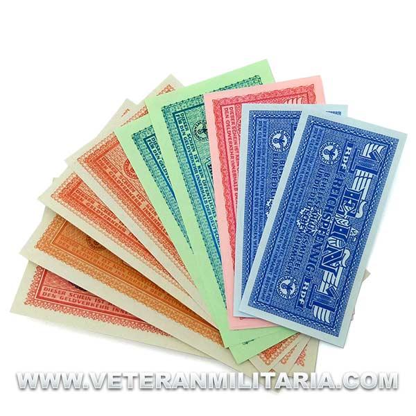 1942 Wehrmacht banknotes