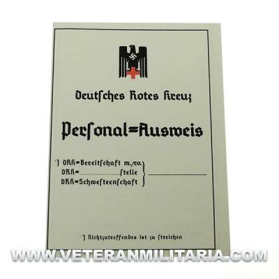 German Identity Card DRK