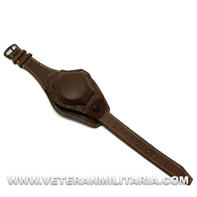 US Leather Watchband with Cover