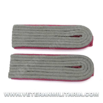German Panzer Officer Shoulder Boards