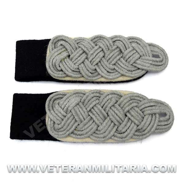 Waffen S.S. Infantry Senior Officer's Shoulder Boards