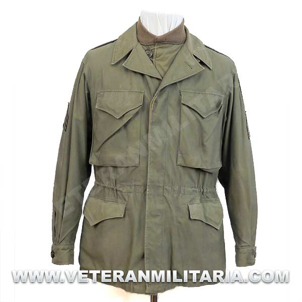 Jacket M-1943 with Jacket Field Pile Original