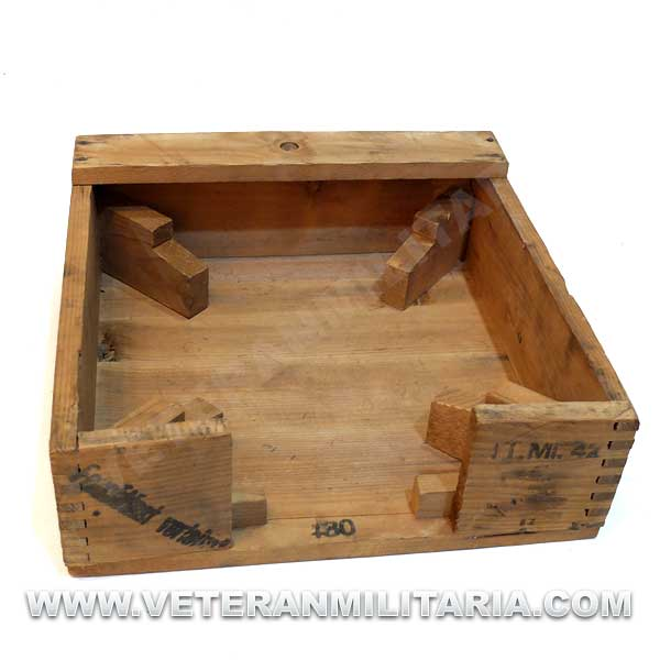 Tellermine 42 Original Wooden Box
